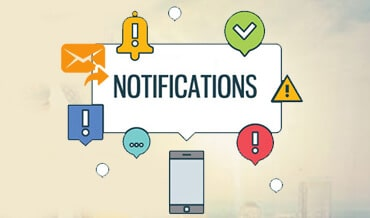 Automated SMS/Email notifications